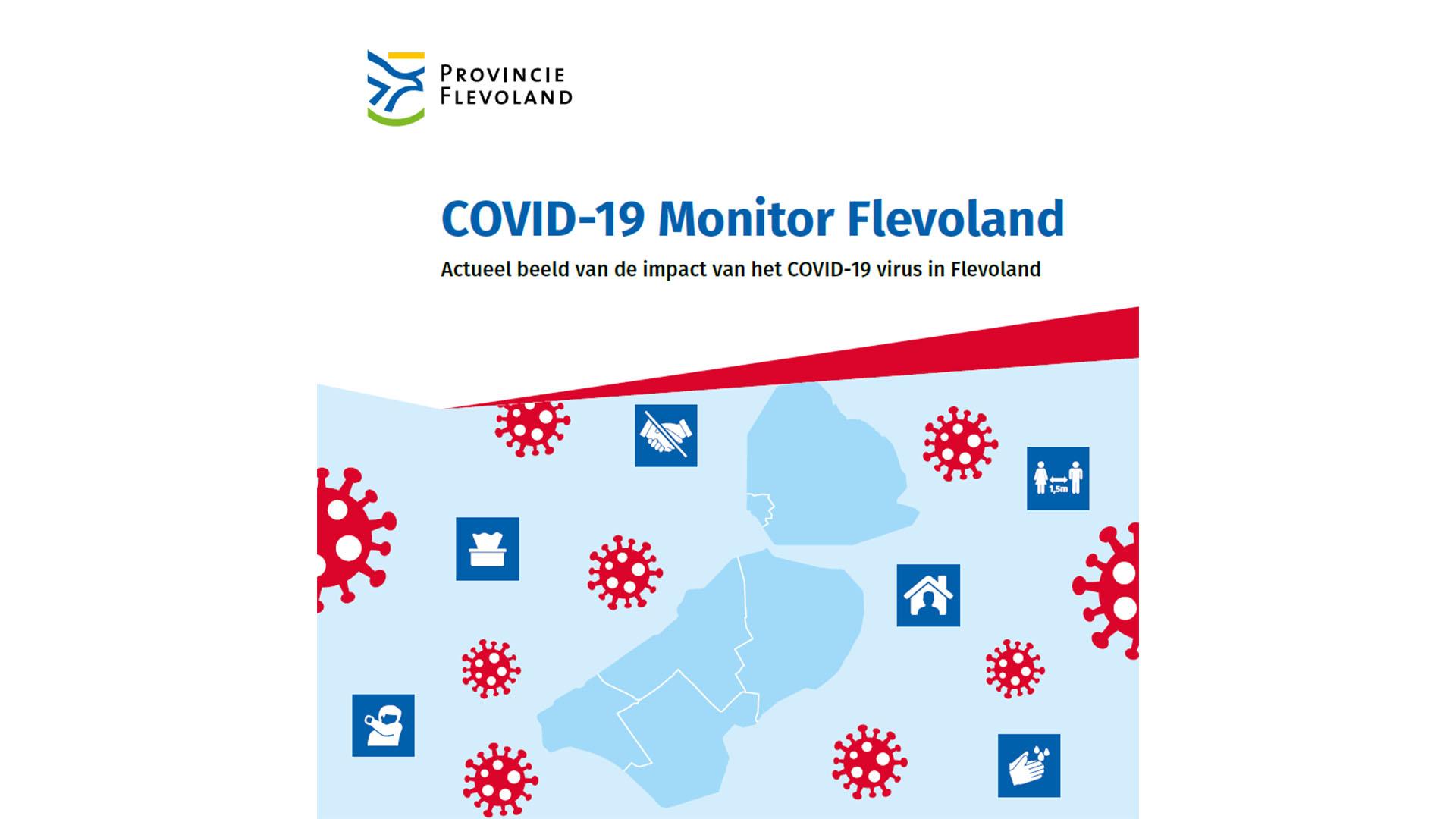 Cover COVID-19 monitor Flevoland