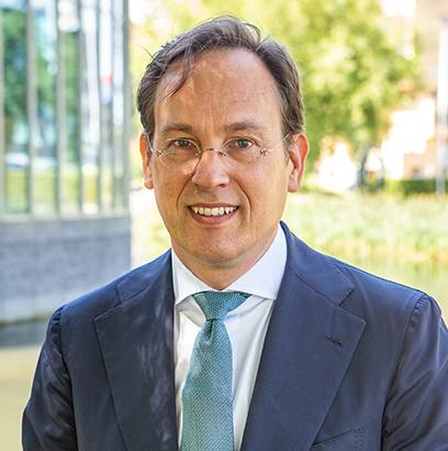 Foto van gedeputeerde Jan-Nico Appelman