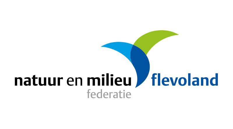 Logo natuur en milieufederatie Flevoland