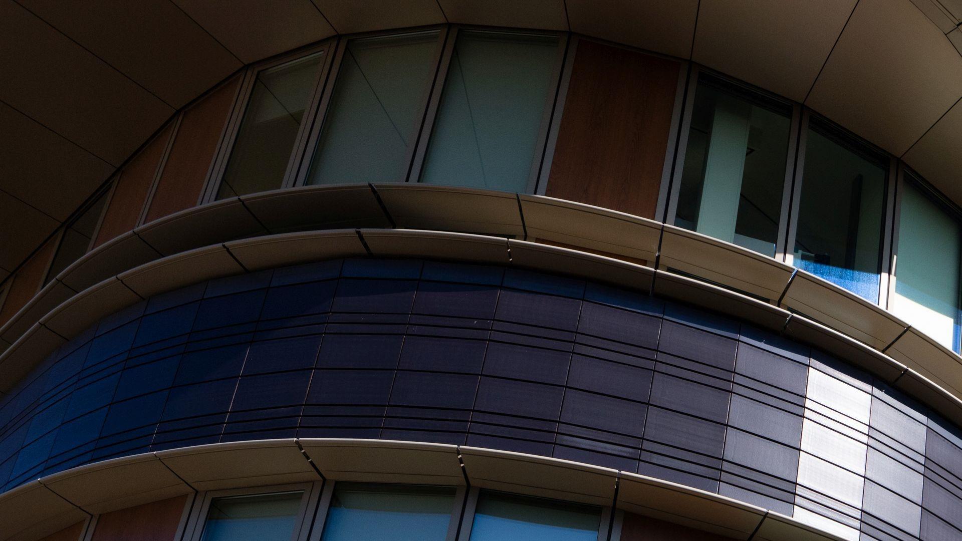 Foto ramen van provinciehuis