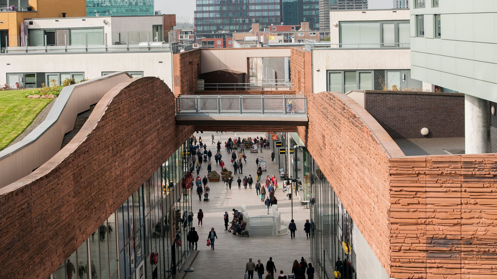 Winkelstraat Almere Centrum