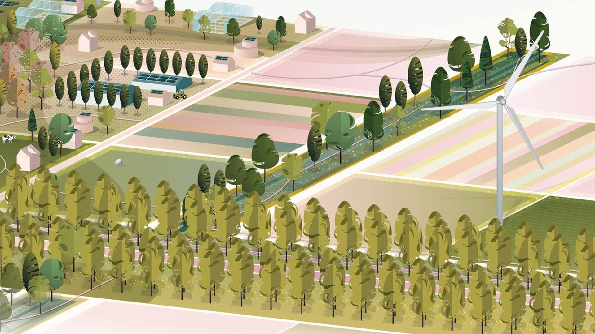 Programma Landschap van de Toekomst visualisatie cover